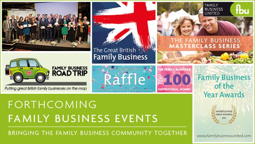 Family Business United 2017 Events