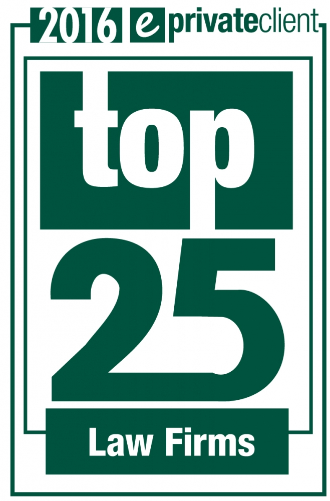 eprivateclient Top 25 Private Client Law Firms 2016