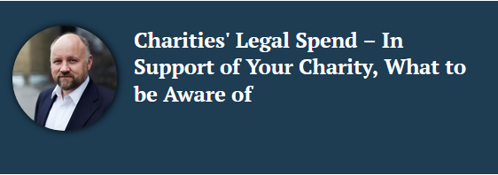 Link to related charity law article by Chris Billington, solicitor