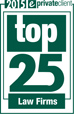 Top 25 Law Firms 2015
