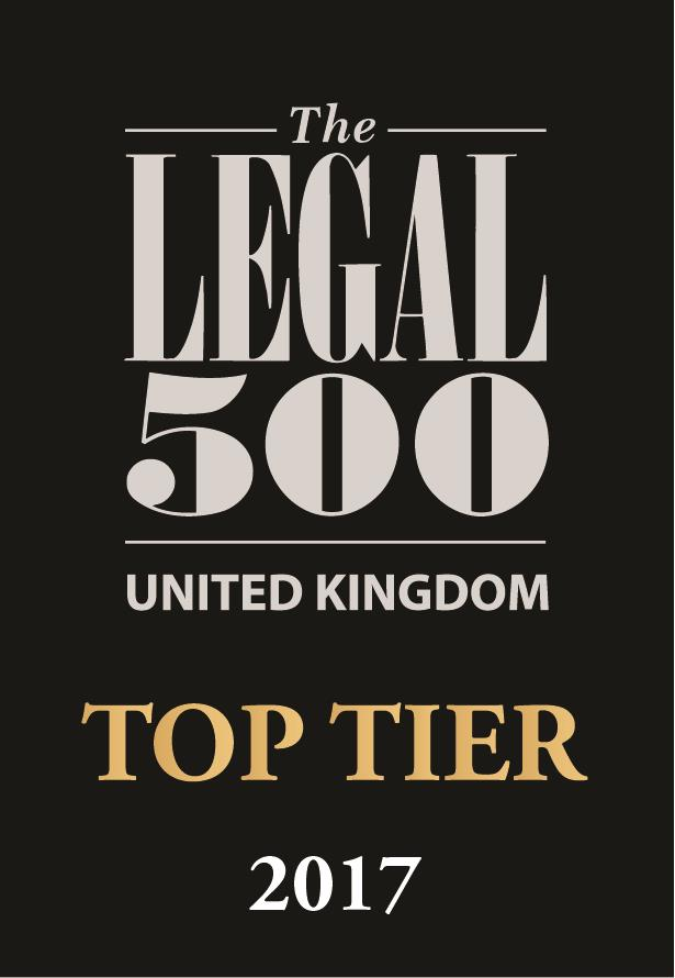 The Legal 500 UK: Top Tier 2011