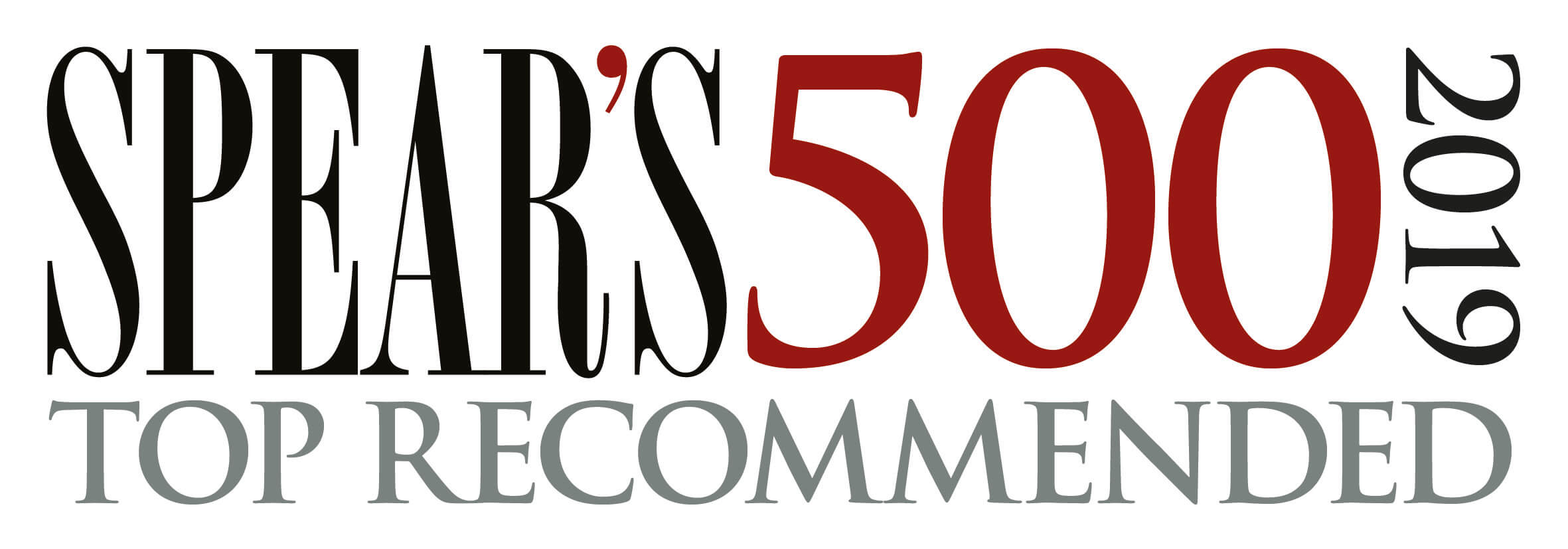 Spear's 500 Top Recommended 2019