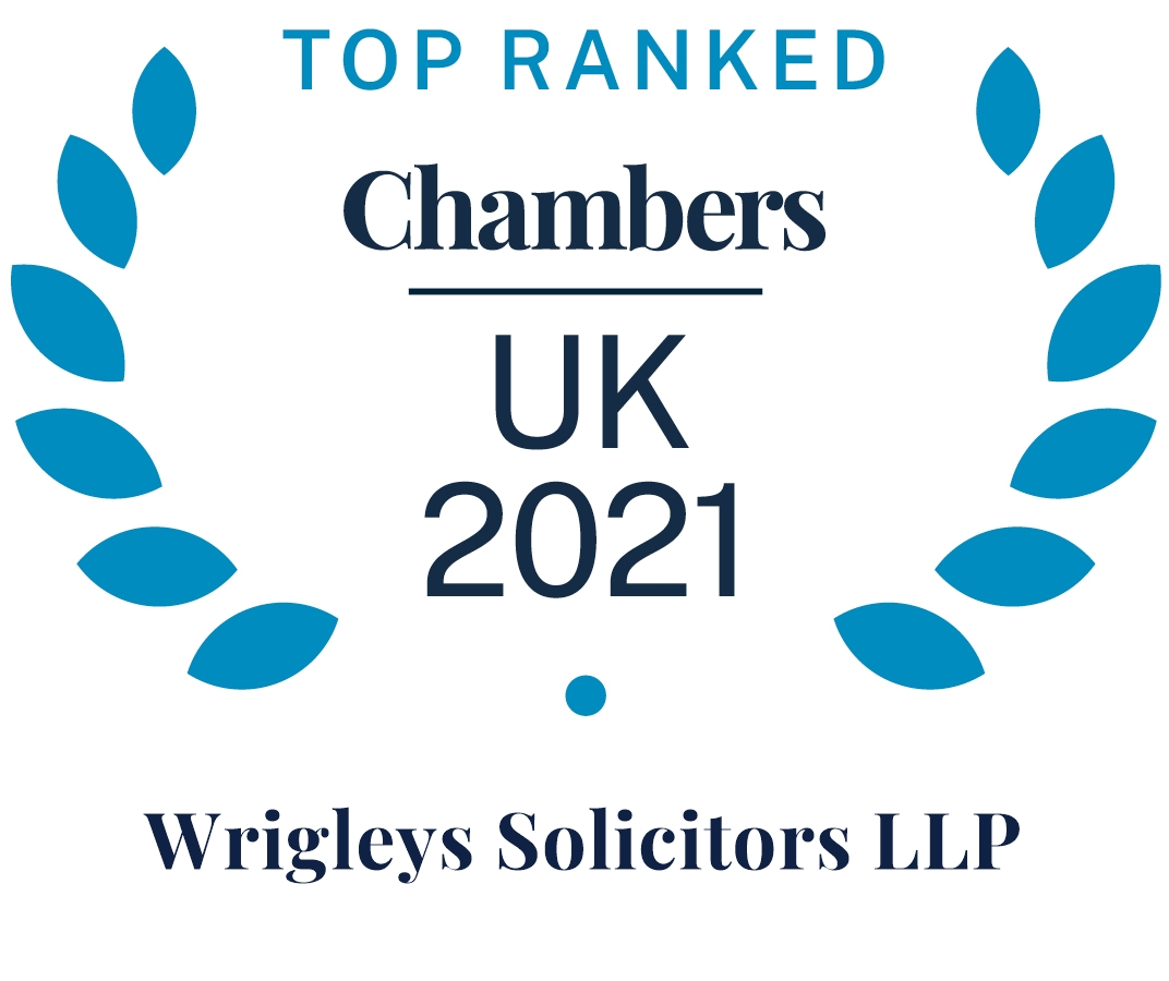 Top Ranked Chambers UK 2021 - Leading Firm